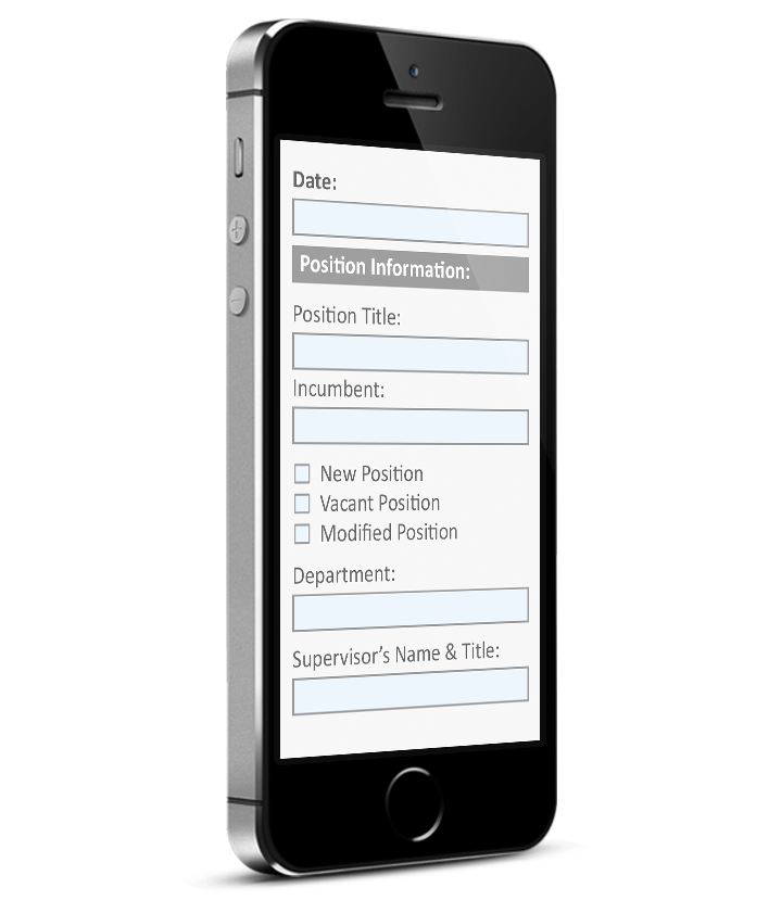 PDF Forms on Mobile - Converted Responsive layout