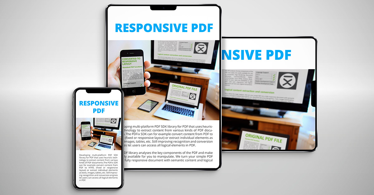 Responsive PDF? Here´s how to!